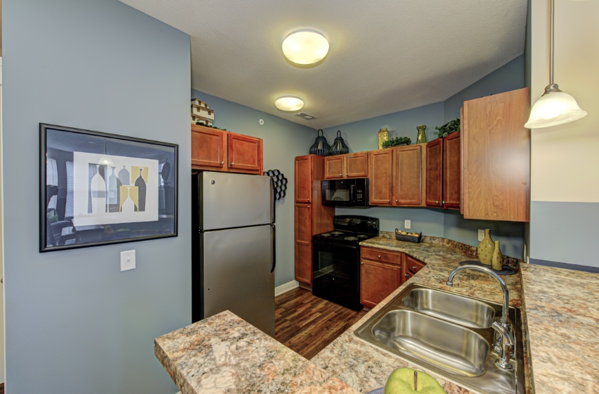 Open Kitchen with Storage in Sylvania.